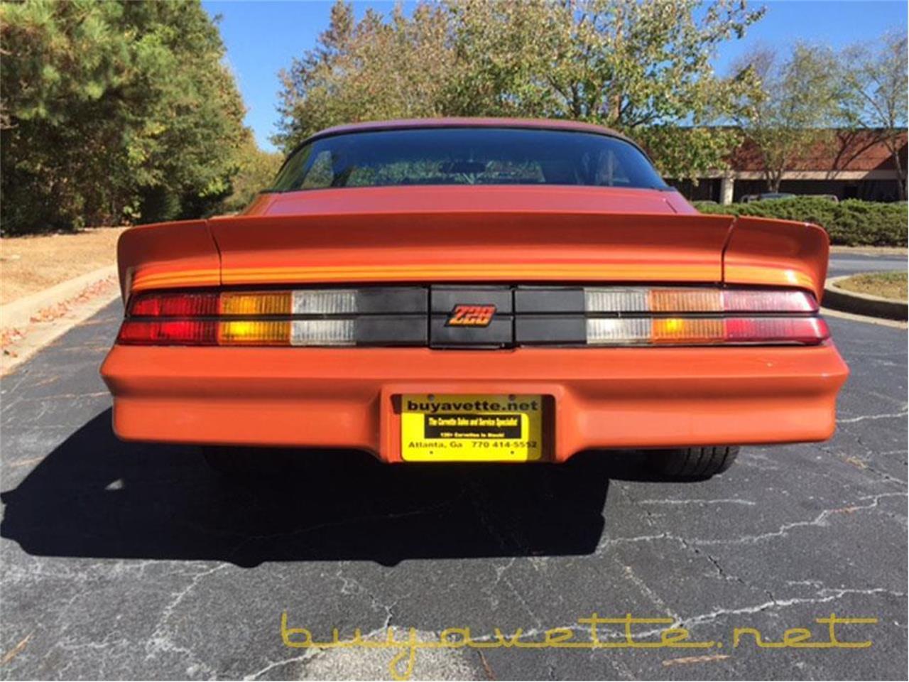 Large Picture of 1980 Chevrolet Camaro located in Atlanta Georgia - $18,891.00 - JQT4