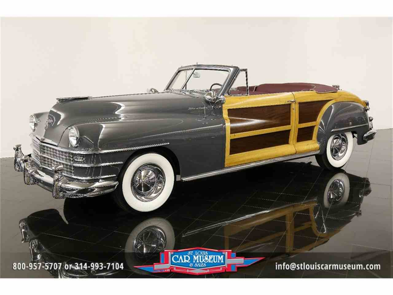 Large Picture of 1948 Town & Country Convertible Offered by St. Louis Car Museum - JPZI