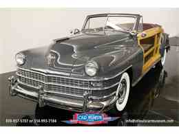 Picture of Classic 1948 Chrysler Town & Country Convertible located in Missouri - $119,900.00 Offered by St. Louis Car Museum - JPZI