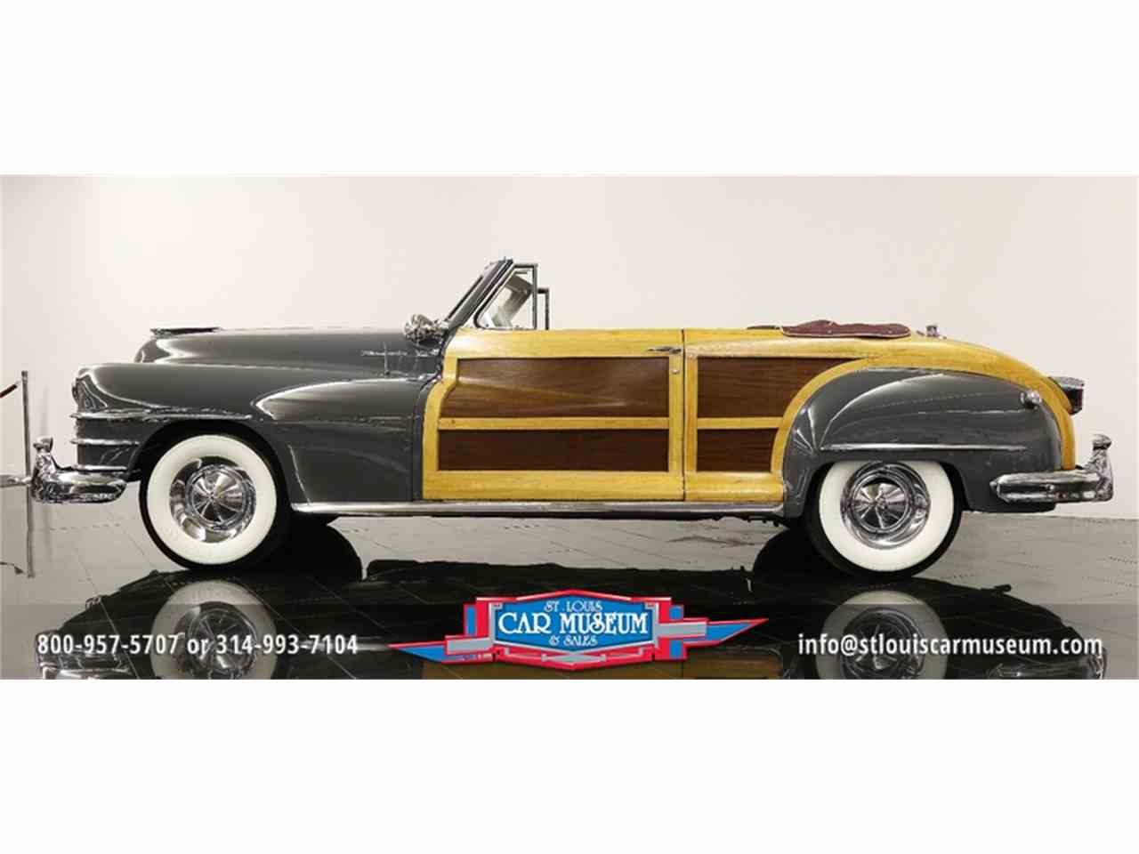 Large Picture of 1948 Town & Country Convertible located in Missouri - $119,900.00 Offered by St. Louis Car Museum - JPZI