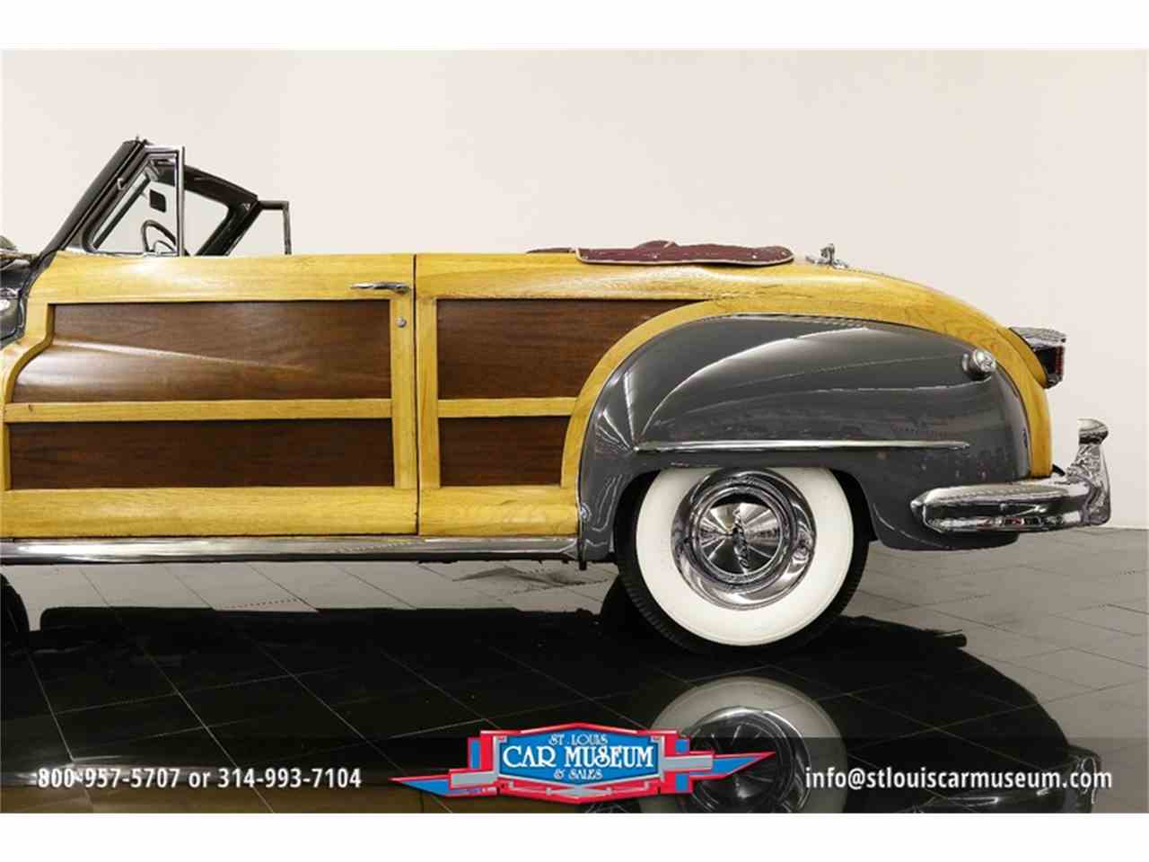 Large Picture of Classic 1948 Town & Country Convertible located in Missouri - $119,900.00 Offered by St. Louis Car Museum - JPZI