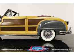 Picture of Classic '48 Chrysler Town & Country Convertible located in St. Louis Missouri - $119,900.00 Offered by St. Louis Car Museum - JPZI