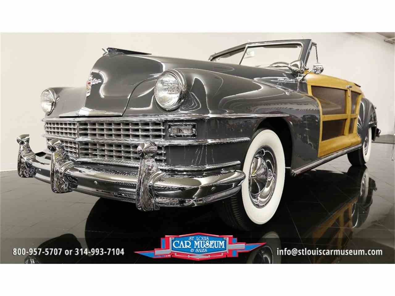 Large Picture of '48 Town & Country Convertible located in Missouri Offered by St. Louis Car Museum - JPZI