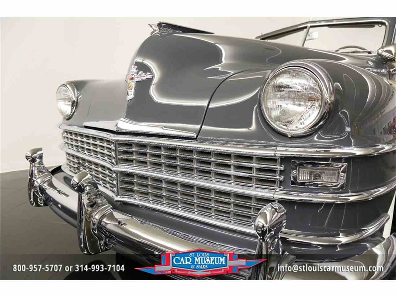 Large Picture of Classic 1948 Chrysler Town & Country Convertible located in Missouri Offered by St. Louis Car Museum - JPZI