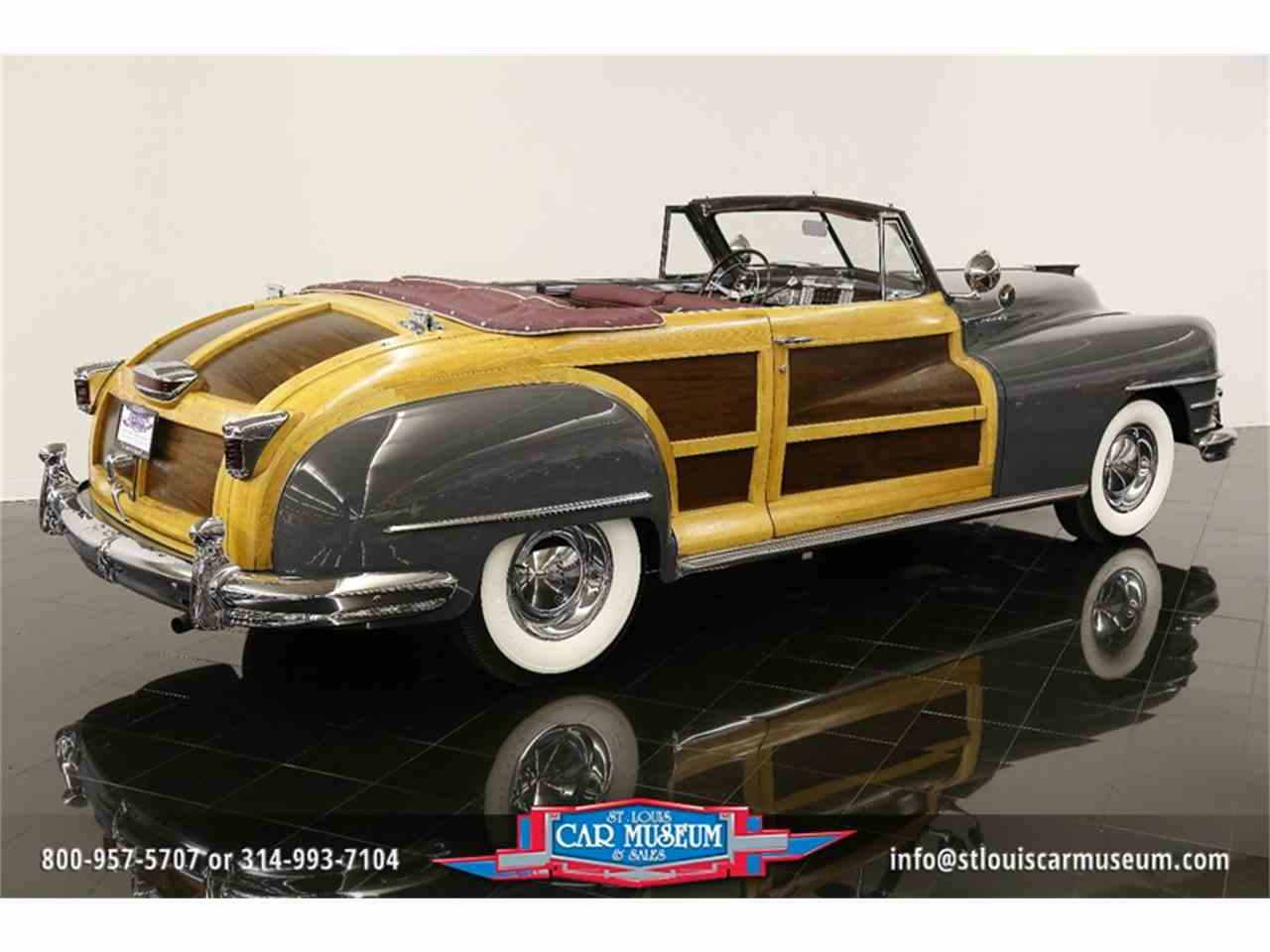 Large Picture of Classic 1948 Chrysler Town & Country Convertible Offered by St. Louis Car Museum - JPZI