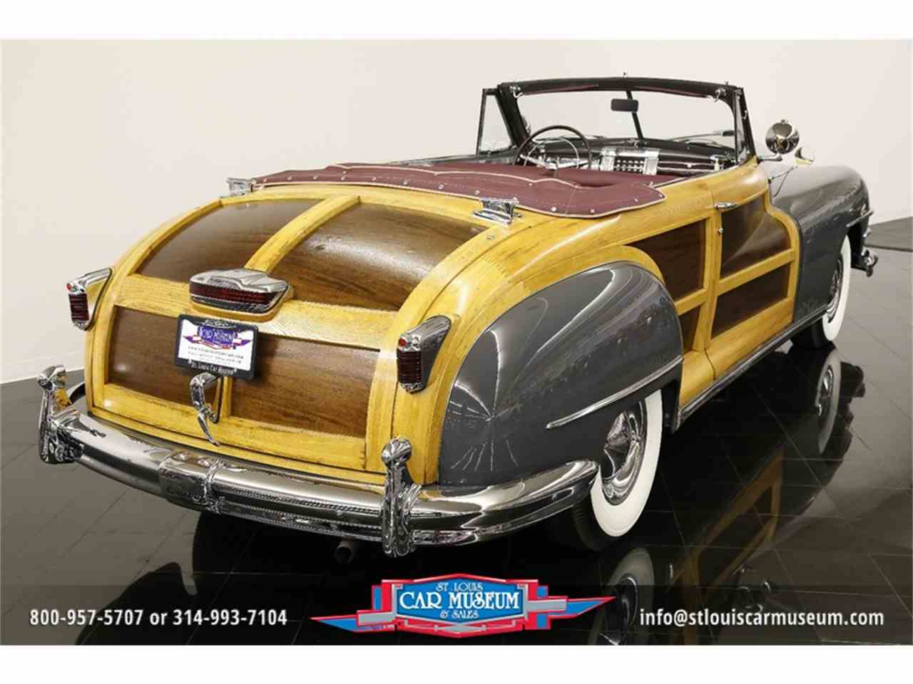 Large Picture of Classic '48 Town & Country Convertible Offered by St. Louis Car Museum - JPZI