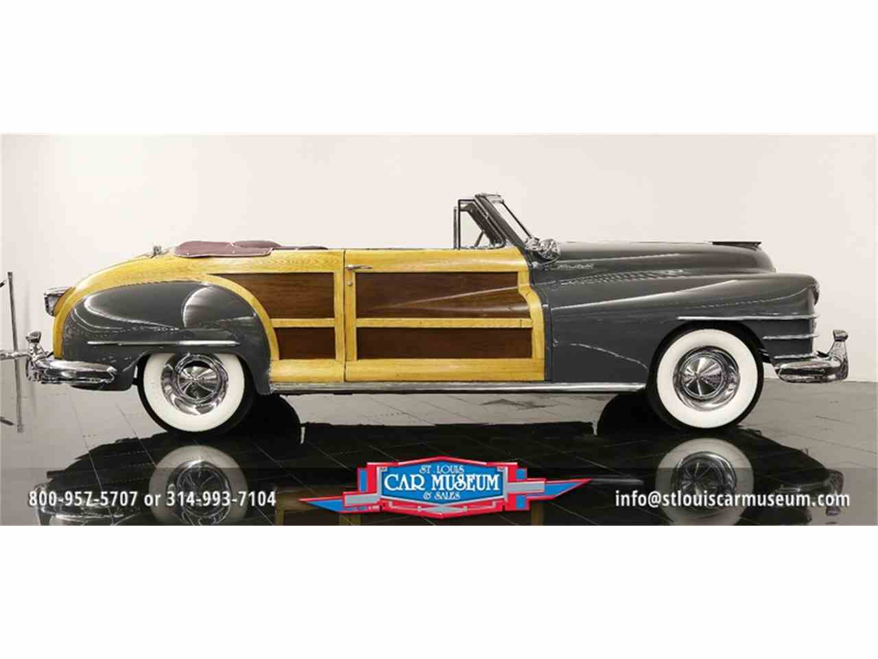 Large Picture of Classic 1948 Chrysler Town & Country Convertible - $119,900.00 - JPZI