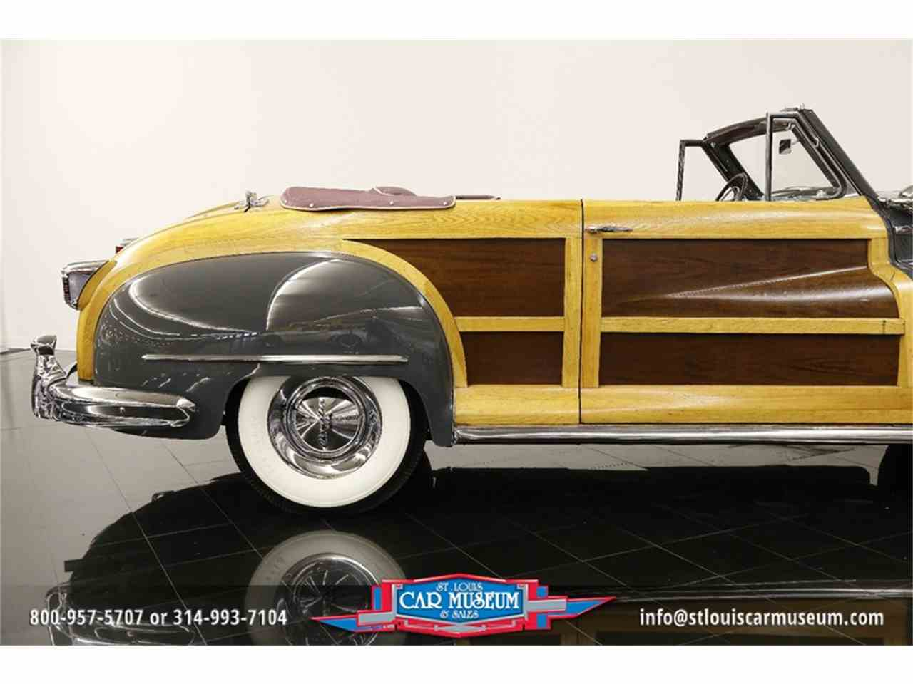 Large Picture of 1948 Chrysler Town & Country Convertible located in Missouri Offered by St. Louis Car Museum - JPZI