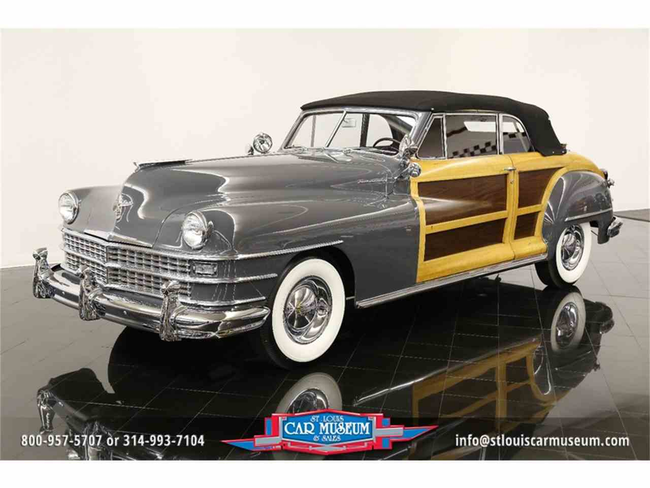 Large Picture of '48 Town & Country Convertible located in Missouri - $119,900.00 Offered by St. Louis Car Museum - JPZI