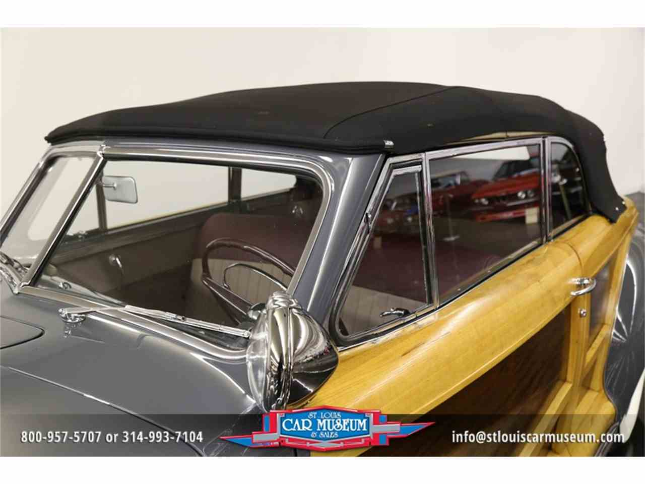 Large Picture of 1948 Town & Country Convertible located in Missouri Offered by St. Louis Car Museum - JPZI