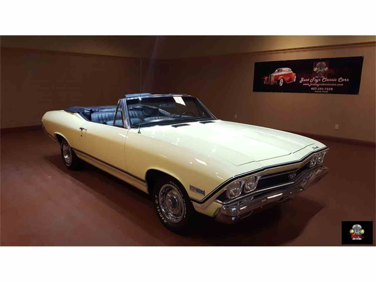 Large Picture of '68 Chevrolet Chevelle SS located in Orlando Florida - JR90