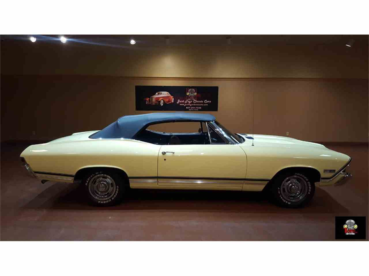 Large Picture of Classic 1968 Chevrolet Chevelle SS Offered by Just Toys Classic Cars - JR90