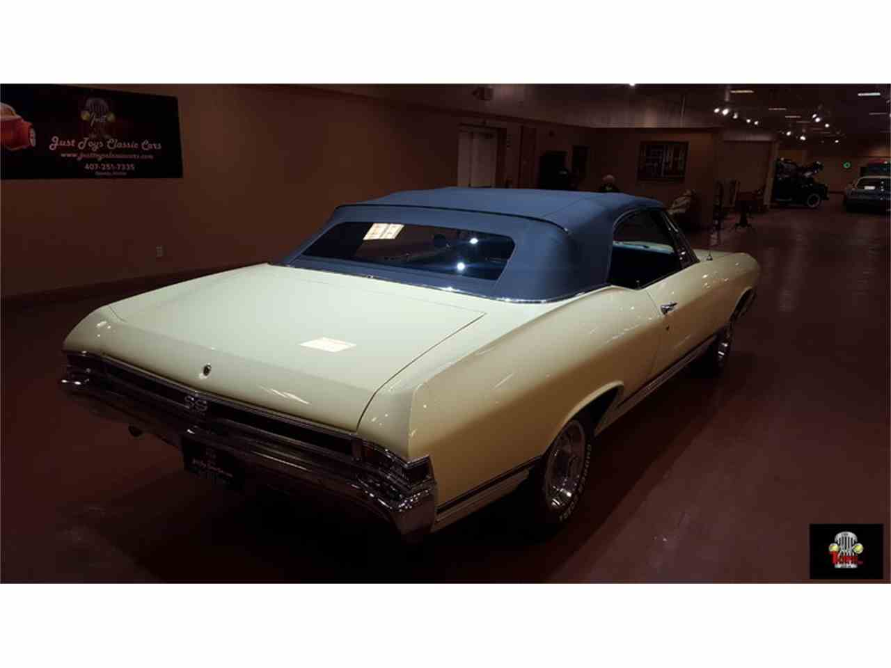 Large Picture of Classic '68 Chevrolet Chevelle SS located in Florida Offered by Just Toys Classic Cars - JR90