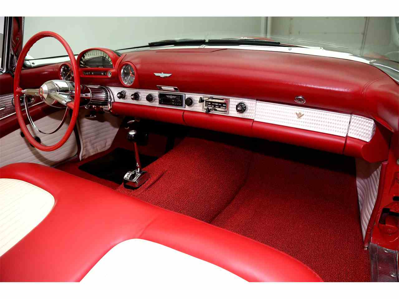 Large Picture of '55 Thunderbird located in Des Moines Iowa - JREE