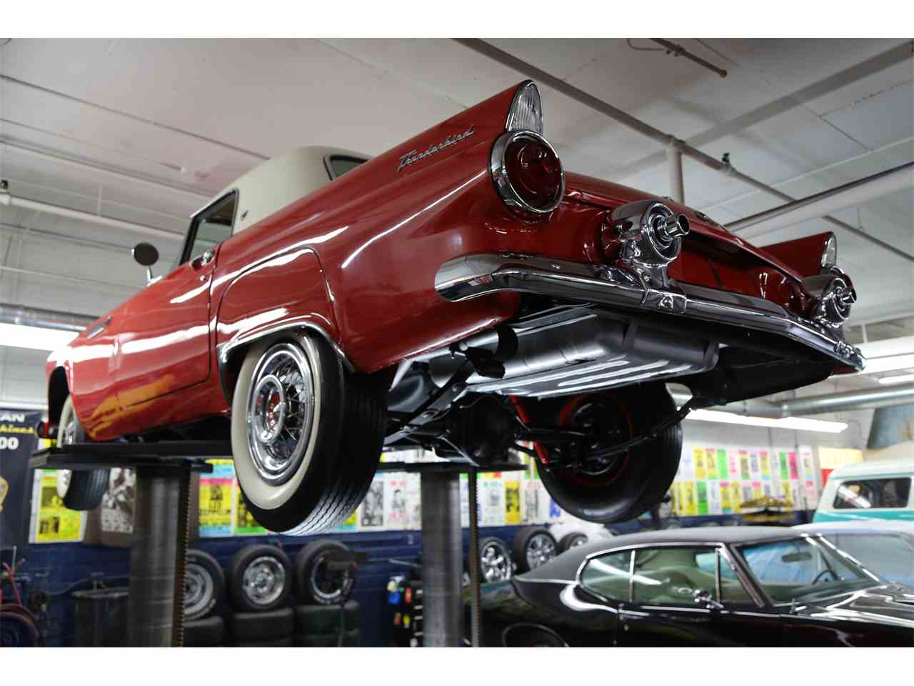 Large Picture of Classic 1955 Thunderbird located in Iowa Offered by American Dream Machines - JREE