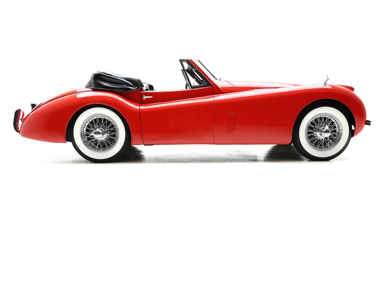 For Sale: 1954 Jaguar XK120 In Des Moines, Iowa