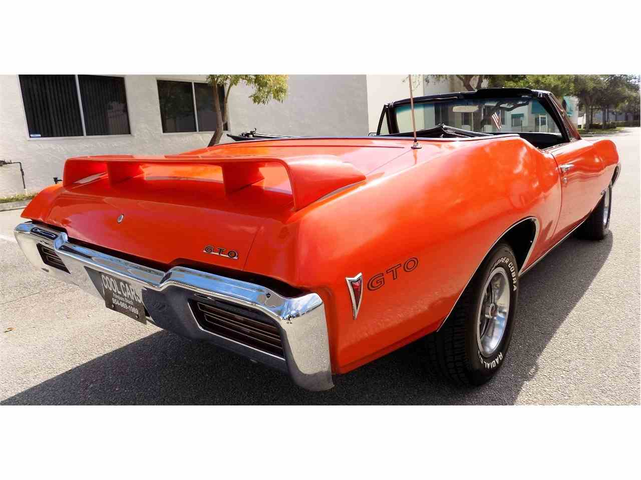 Large Picture of '68 Pontiac GTO located in POMPANO BEACH Florida - $26,995.00 - JRS0