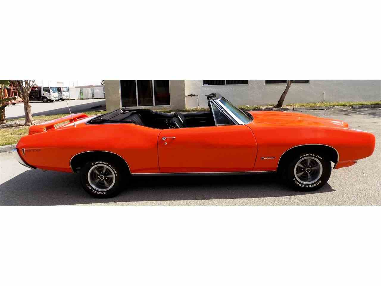 Large Picture of Classic 1968 Pontiac GTO located in POMPANO BEACH Florida - $26,995.00 - JRS0
