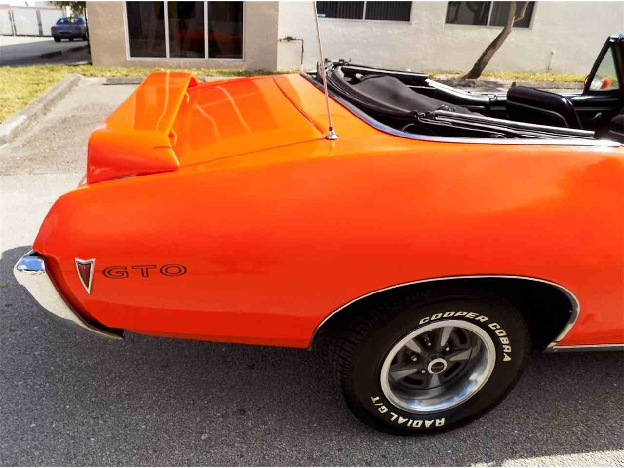 Large Picture of '68 Pontiac GTO located in Florida Offered by Cool Cars - JRS0