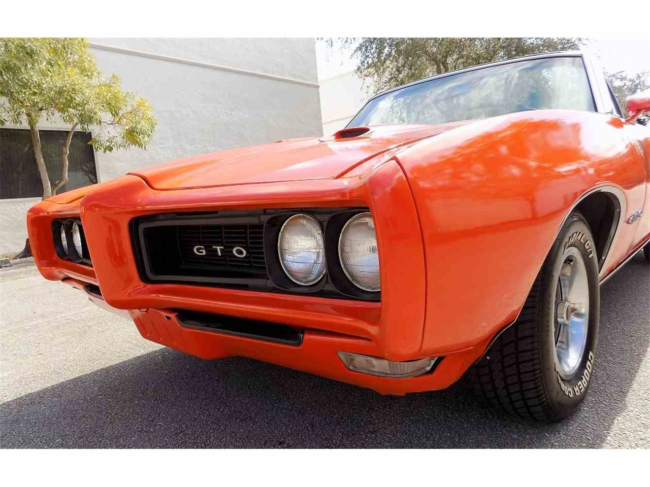 Large Picture of 1968 GTO located in POMPANO BEACH Florida - $26,995.00 Offered by Cool Cars - JRS0