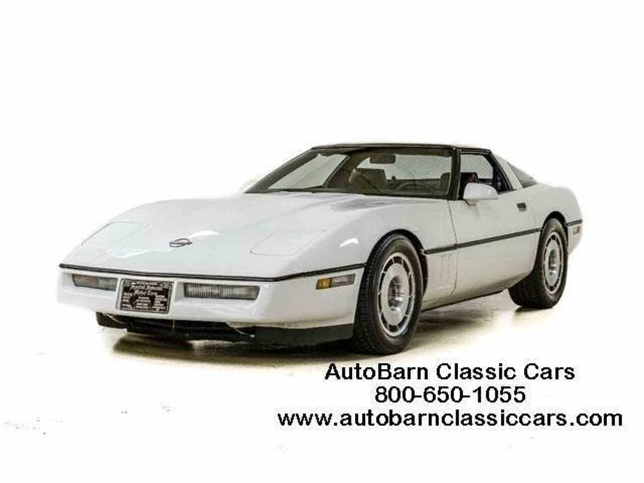 Large Picture of 1986 Chevrolet Corvette - JQ2I