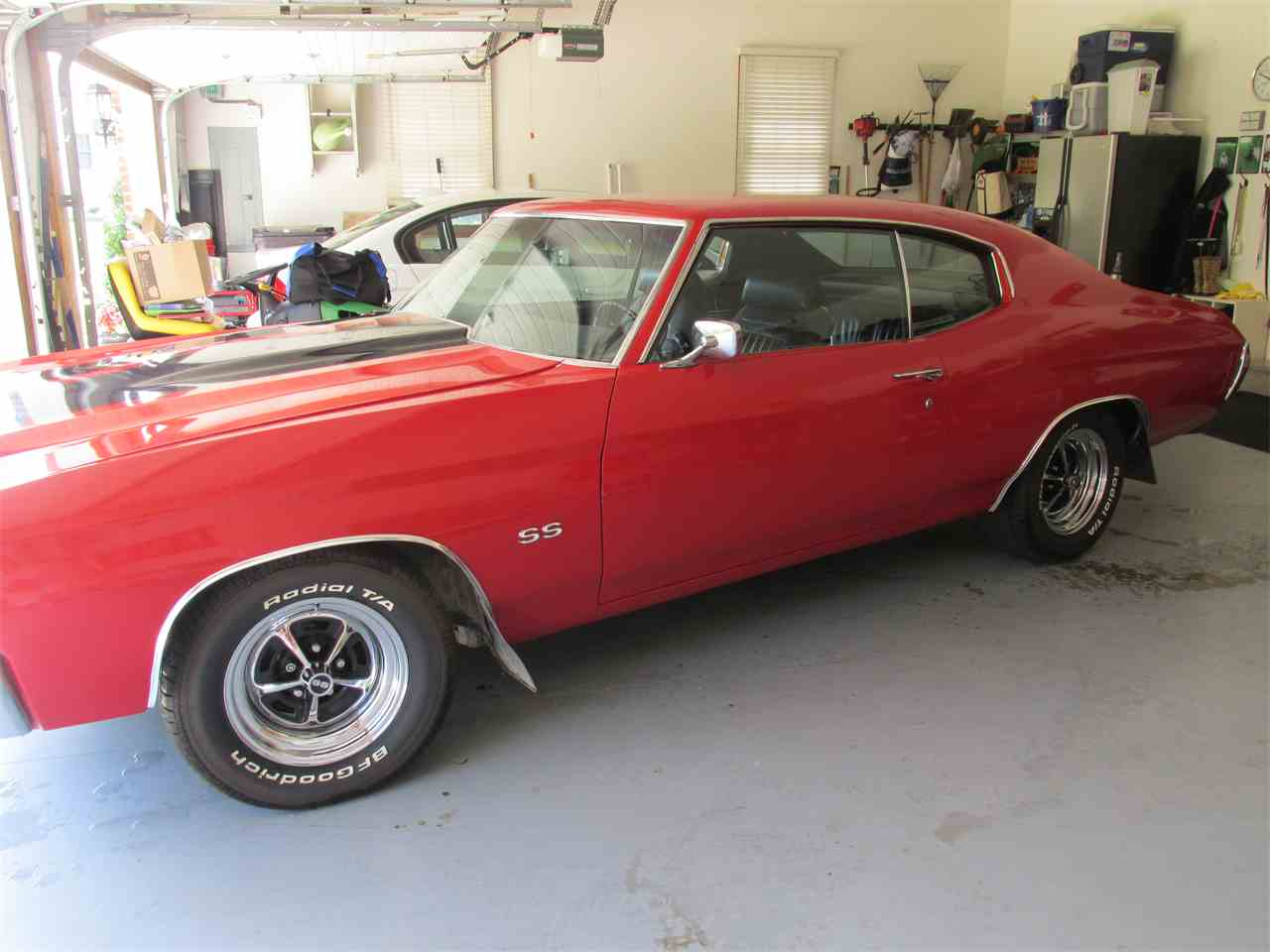Large Picture of Classic '71 Chevrolet Chevelle SS located in Godfrey Illinois - $26,500.00 Offered by a Private Seller - JRT1
