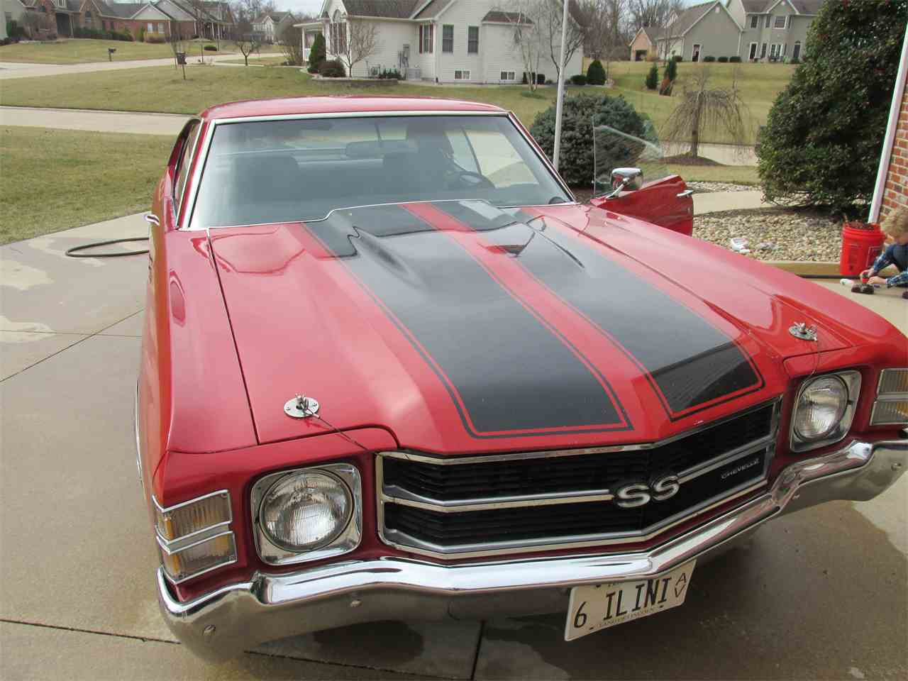 Large Picture of '71 Chevrolet Chevelle SS located in Godfrey Illinois - JRT1
