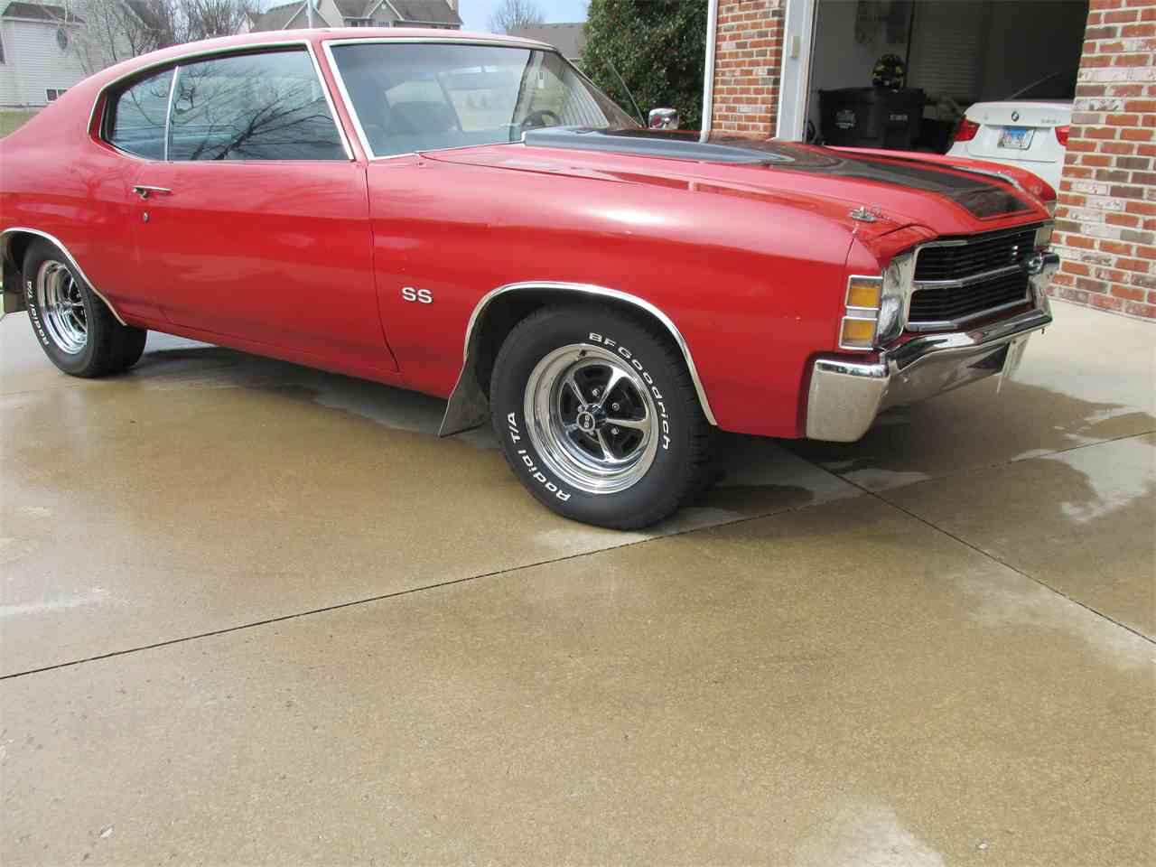 Large Picture of Classic '71 Chevelle SS located in Godfrey Illinois - JRT1