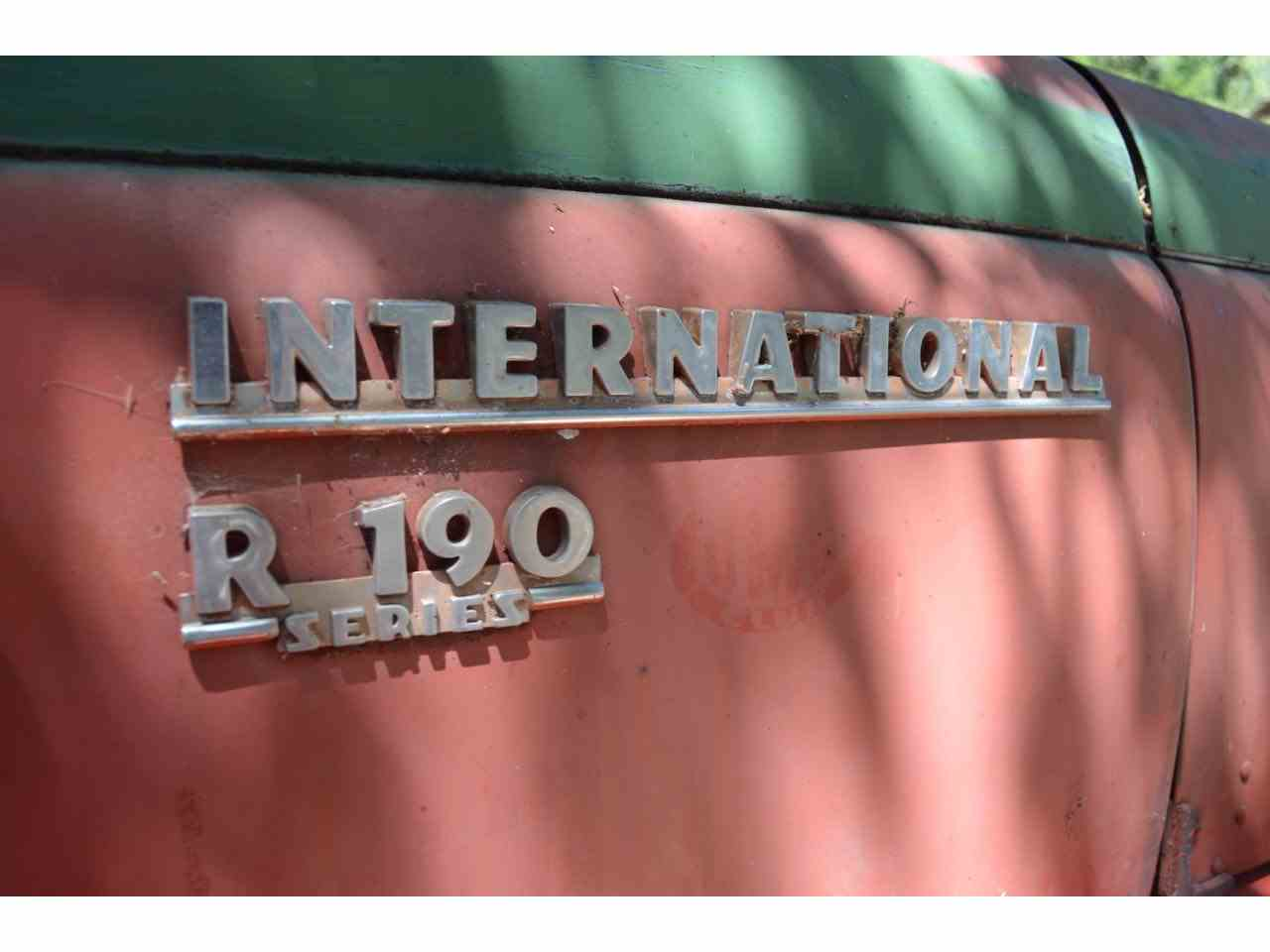 Large Picture of '53 International R-190 Offered by Spoke Motors - JRT9