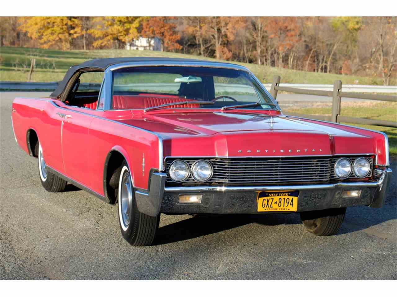 Large Picture of 1966 Continental - JRW9