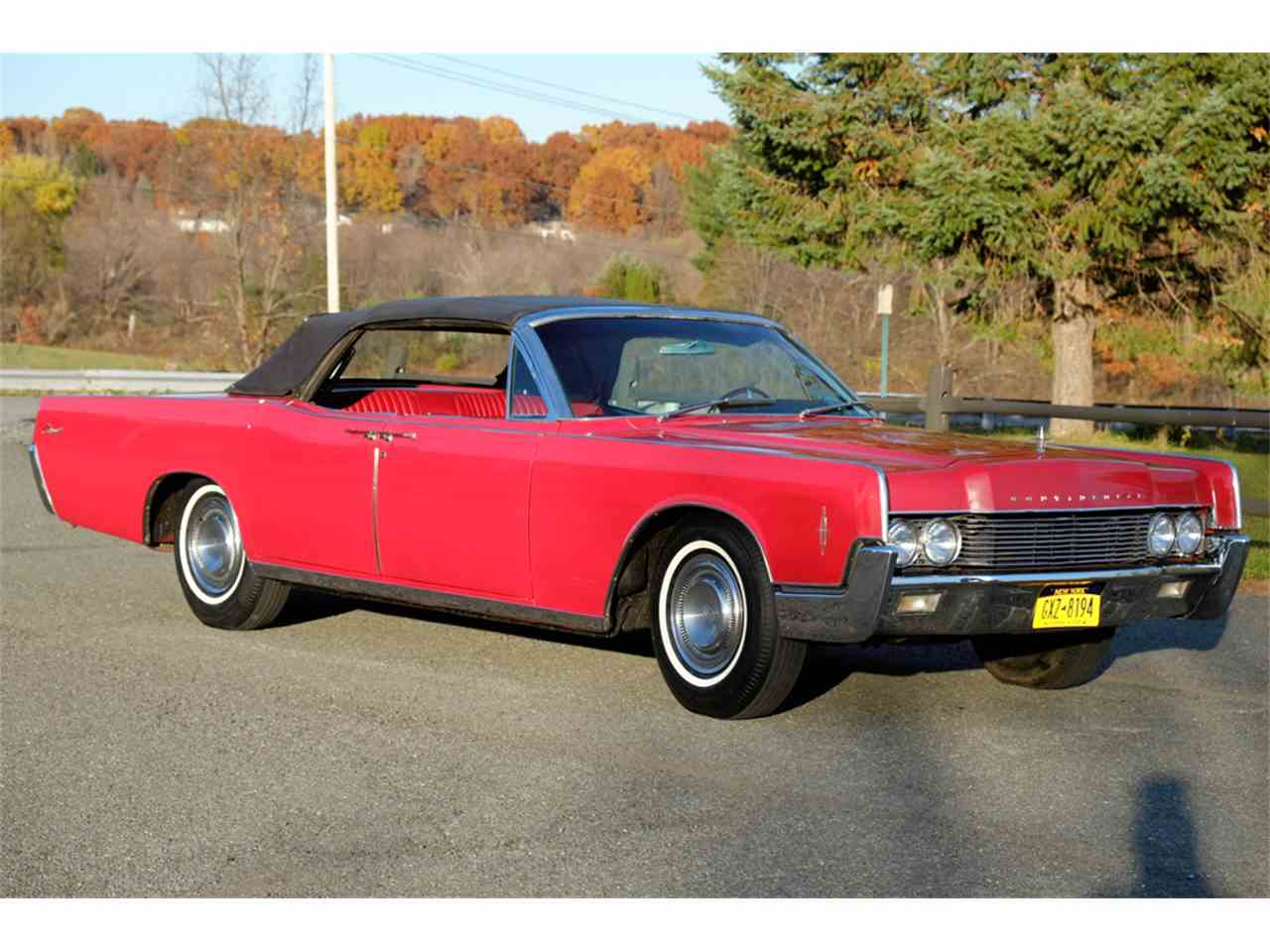 Large Picture of '66 Continental Offered by Automotion - JRW9