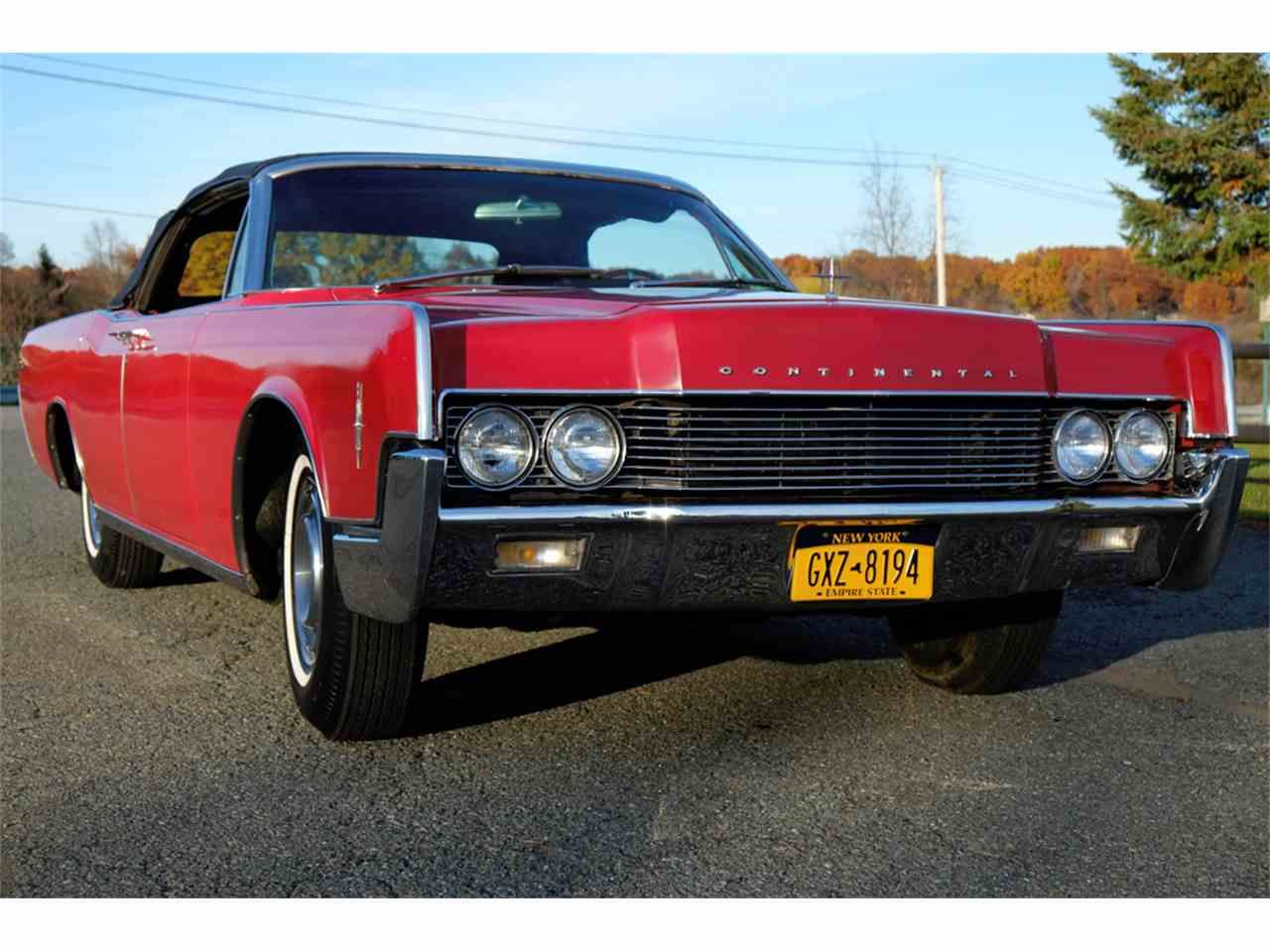 Large Picture of '66 Continental located in New York - $34,900.00 Offered by Automotion - JRW9