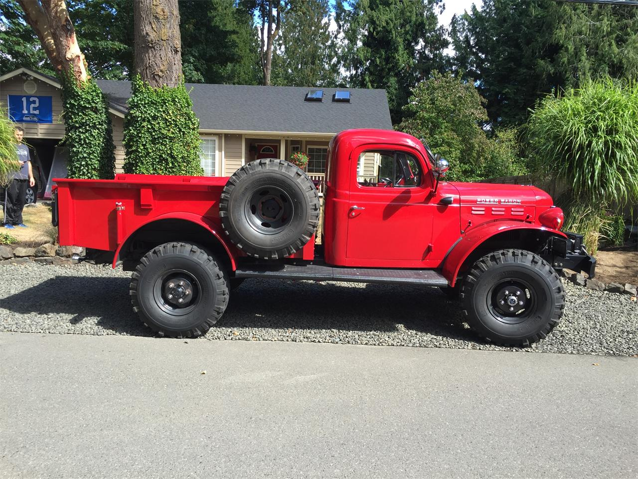 Large Picture of Classic 1949 Dodge Power Wagon located in Lacey Washington - $55,000.00 Offered by a Private Seller - JS10