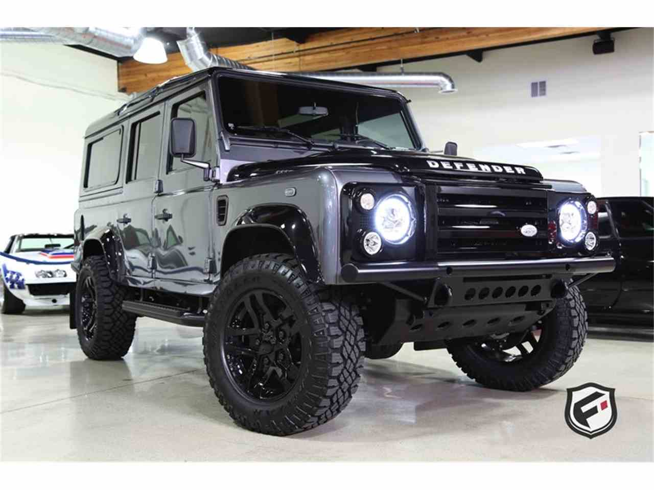 Large Picture of '94 Land Rover Defender located in Chatsworth California Auction Vehicle Offered by Fusion Luxury Motors - JSI7