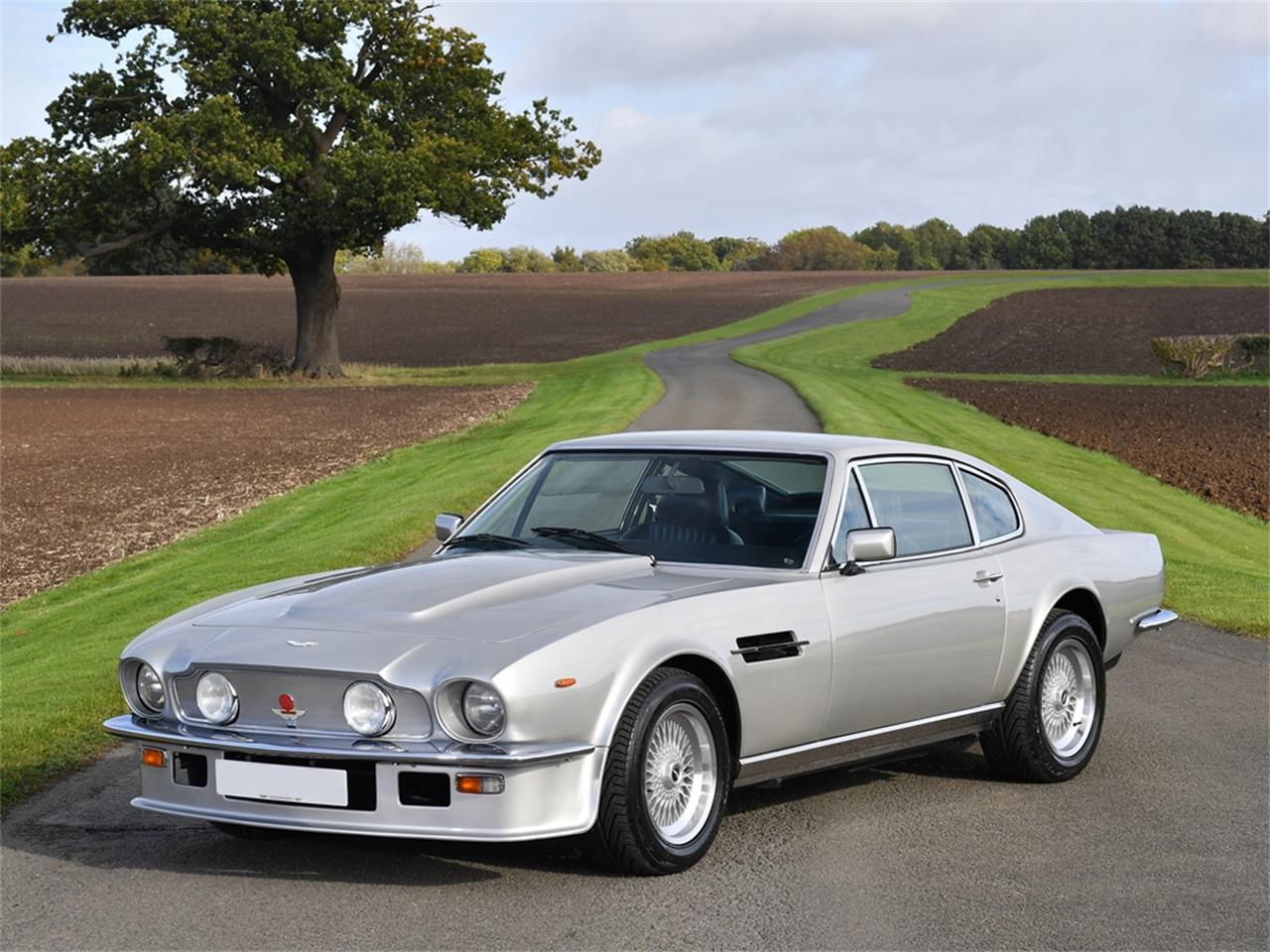 1985 Aston Martin V8 Vantage X Pack Factory Prototype Development