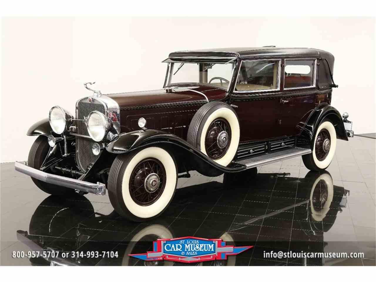 Large Picture of Classic '31 Cadillac V-16 Madam X Landau Sedan located in Missouri - $374,900.00 - JSU3