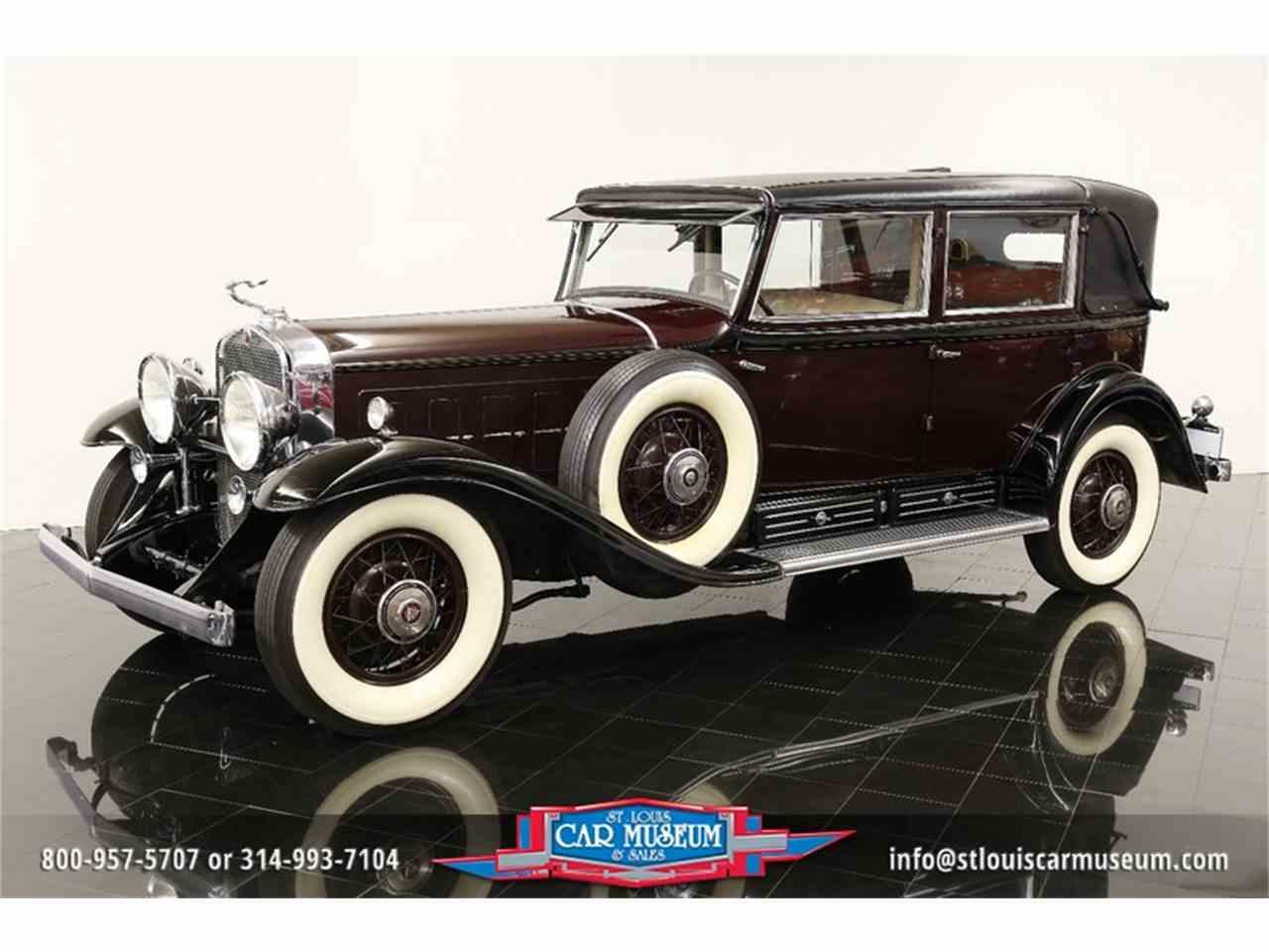 Large Picture of 1931 V-16 Madam X Landau Sedan located in Missouri - $374,900.00 Offered by St. Louis Car Museum - JSU3