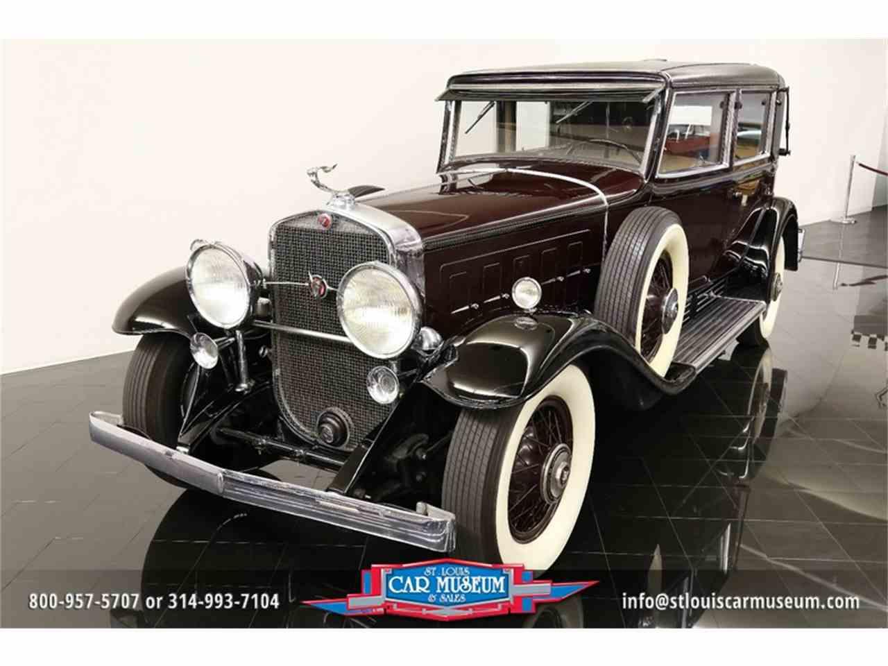 Large Picture of Classic 1931 Cadillac V-16 Madam X Landau Sedan located in St. Louis Missouri - $374,900.00 - JSU3