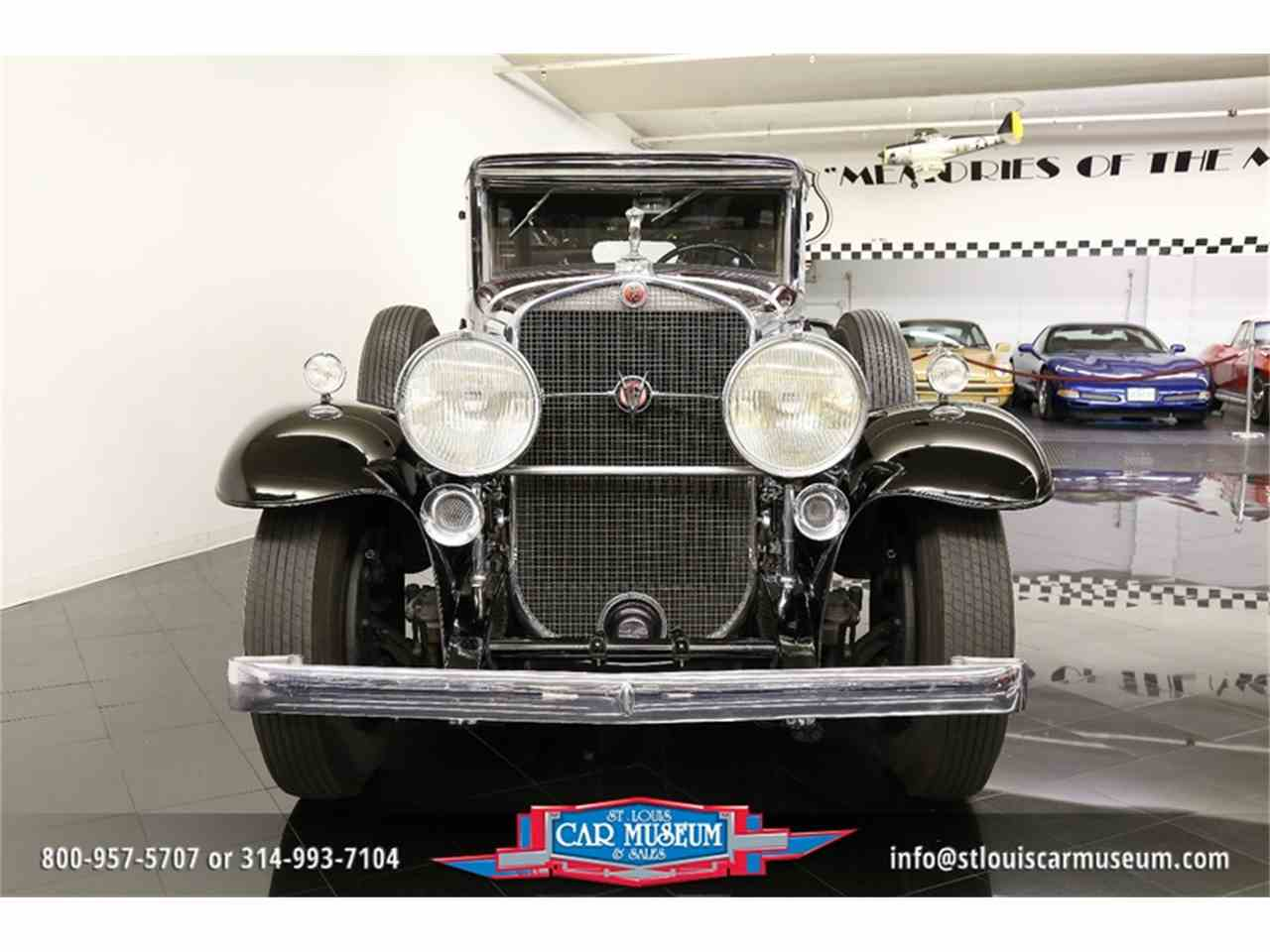 Large Picture of Classic 1931 Cadillac V-16 Madam X Landau Sedan located in St. Louis Missouri - JSU3