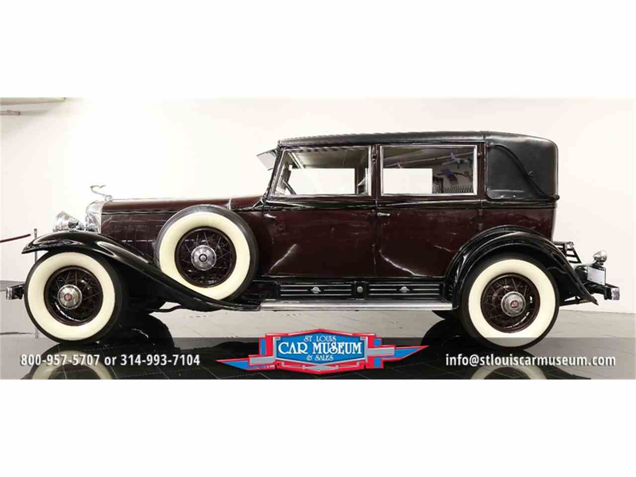 Large Picture of Classic 1931 Cadillac V-16 Madam X Landau Sedan located in Missouri - $374,900.00 Offered by St. Louis Car Museum - JSU3