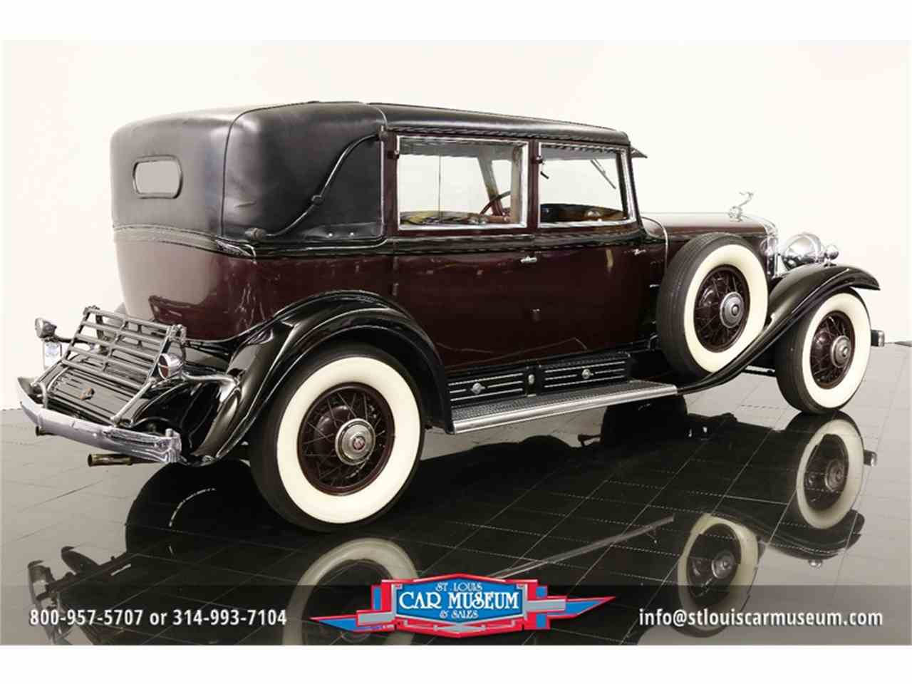 Large Picture of Classic 1931 V-16 Madam X Landau Sedan located in St. Louis Missouri - JSU3
