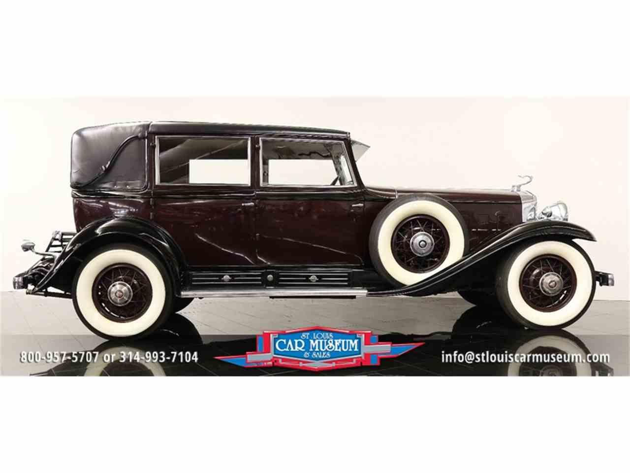 Large Picture of Classic '31 V-16 Madam X Landau Sedan Offered by St. Louis Car Museum - JSU3