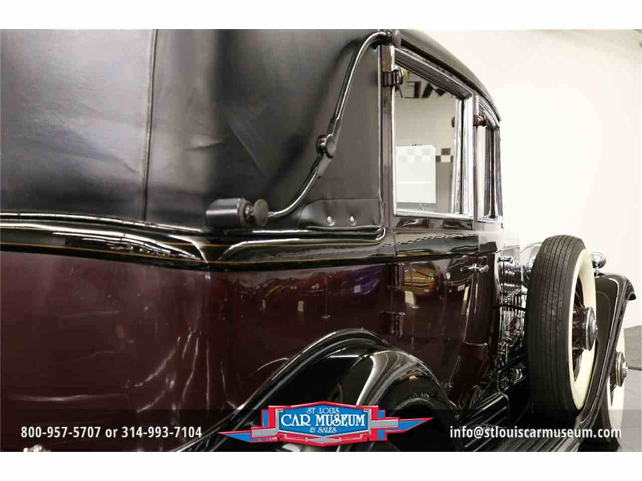 Large Picture of 1931 V-16 Madam X Landau Sedan located in Missouri - $374,900.00 - JSU3