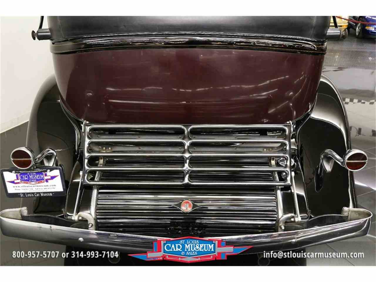 Large Picture of 1931 Cadillac V-16 Madam X Landau Sedan located in Missouri Offered by St. Louis Car Museum - JSU3