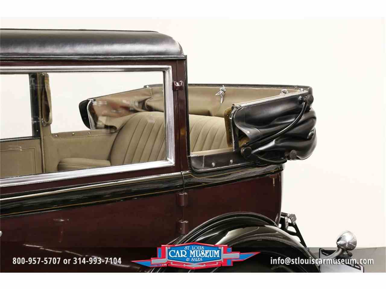 Large Picture of '31 V-16 Madam X Landau Sedan located in St. Louis Missouri Offered by St. Louis Car Museum - JSU3