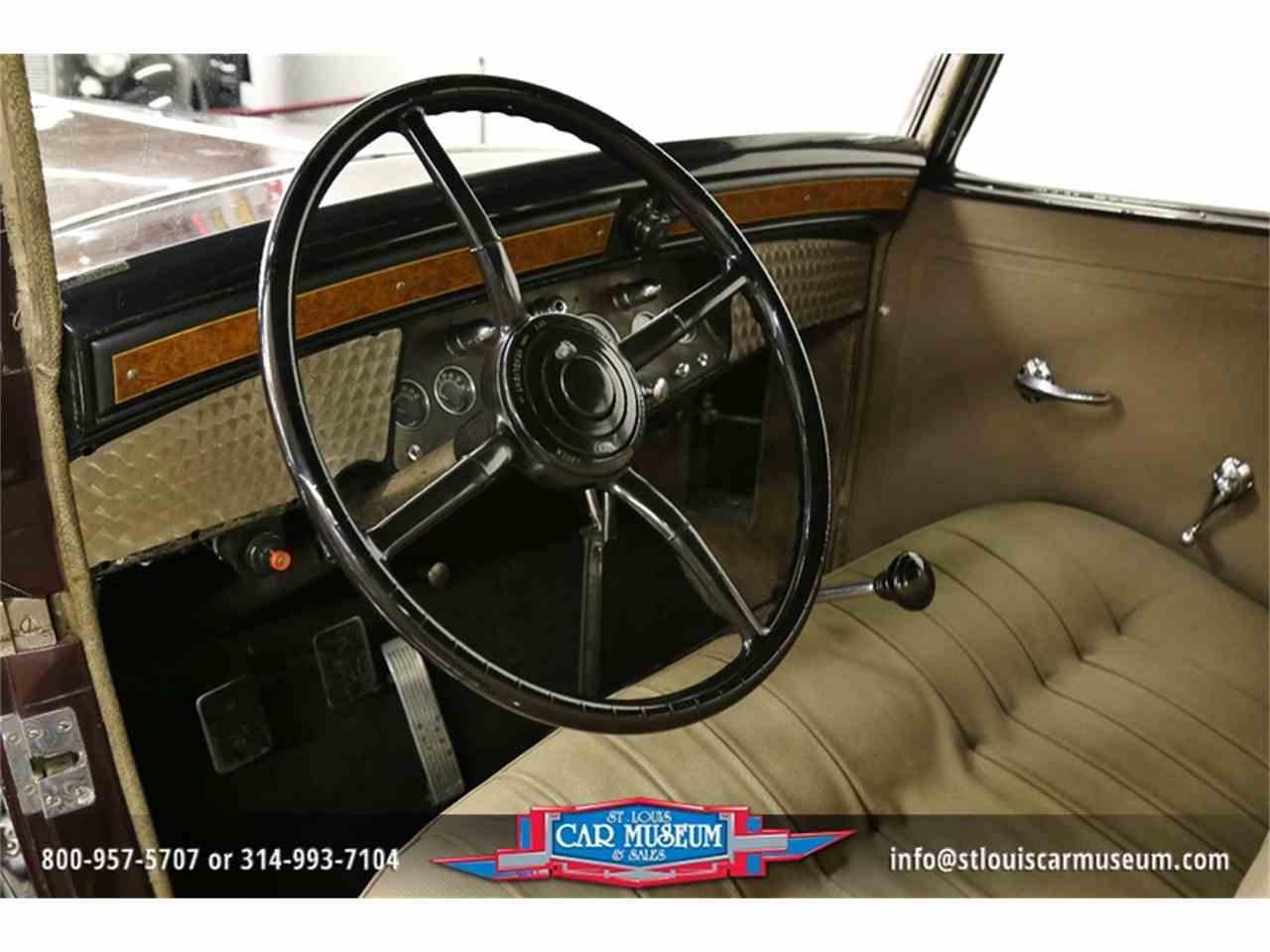 Large Picture of '31 Cadillac V-16 Madam X Landau Sedan - $374,900.00 Offered by St. Louis Car Museum - JSU3