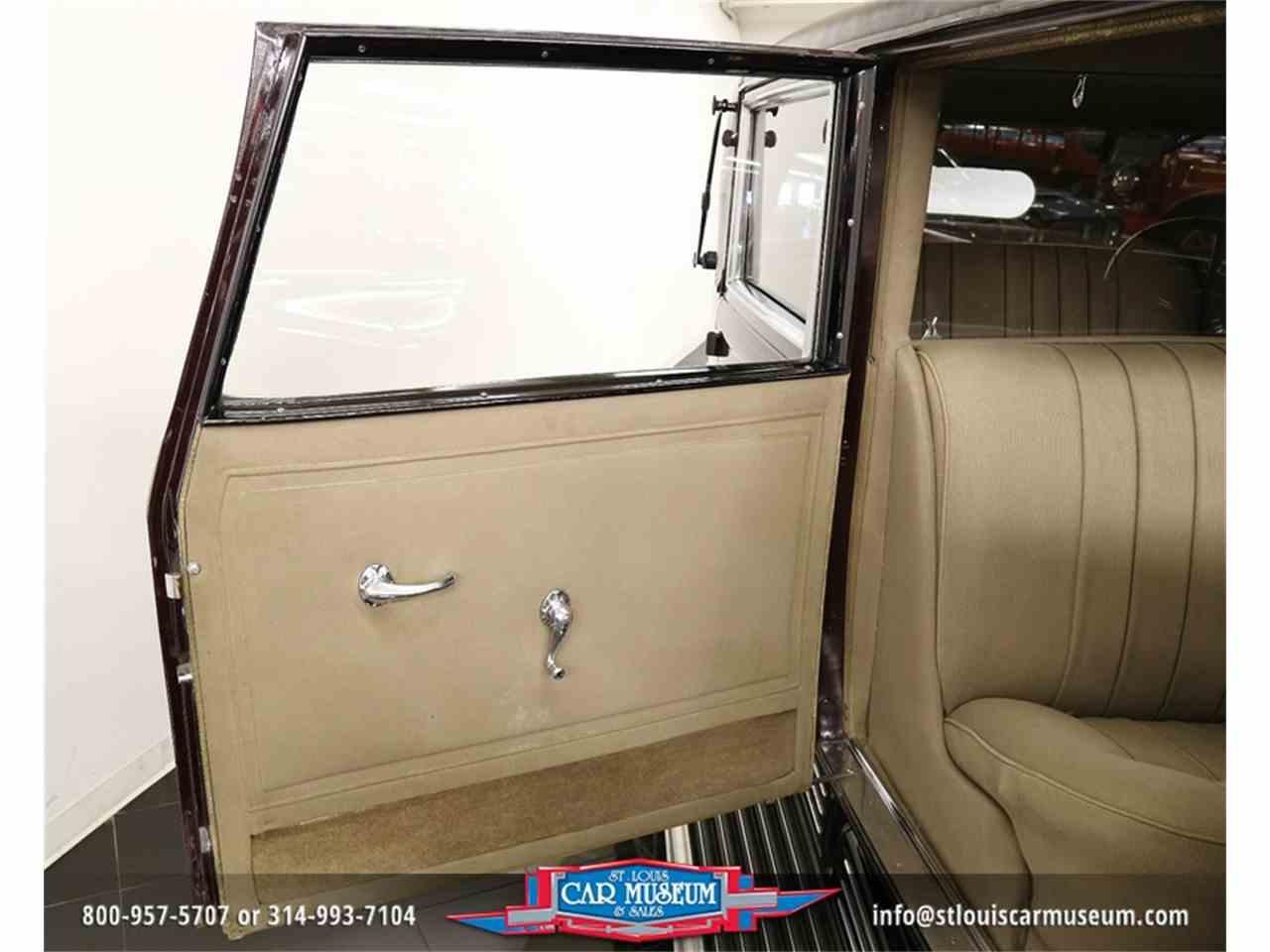 Large Picture of '31 V-16 Madam X Landau Sedan Offered by St. Louis Car Museum - JSU3