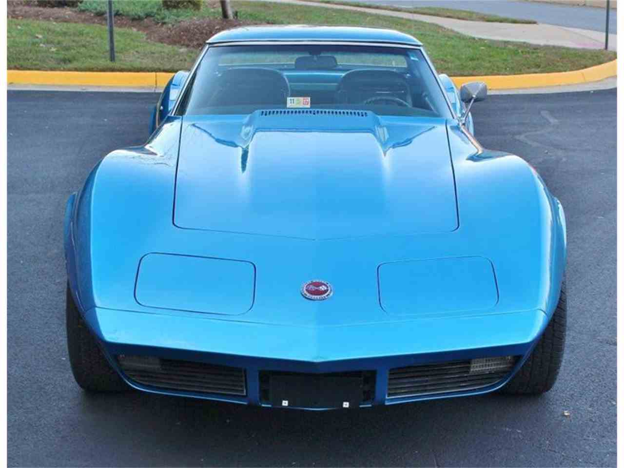 Large Picture of Classic 1973 Chevrolet Corvette located in Triangle Virginia - JSVR