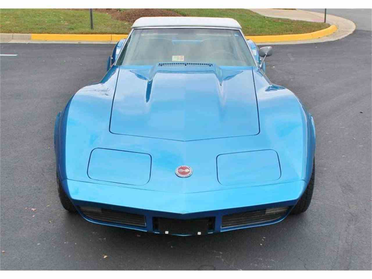 Large Picture of Classic 1973 Chevrolet Corvette located in Triangle Virginia - $28,500.00 - JSVR