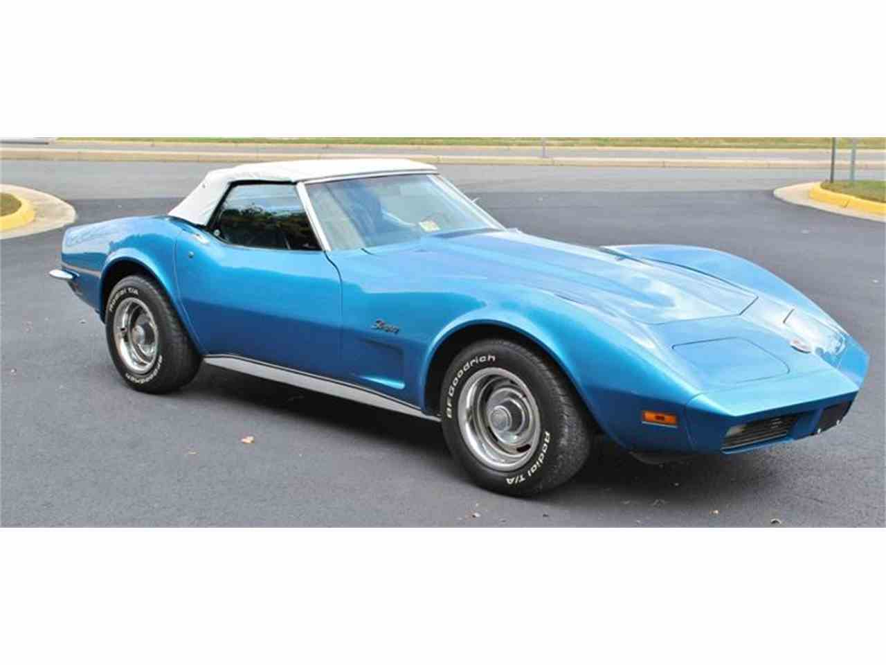 Large Picture of 1973 Corvette located in Triangle Virginia - $28,500.00 - JSVR